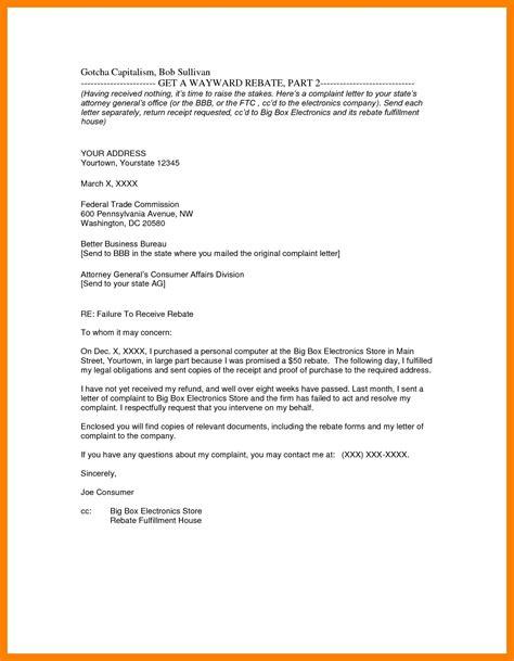 write business letter format cc business