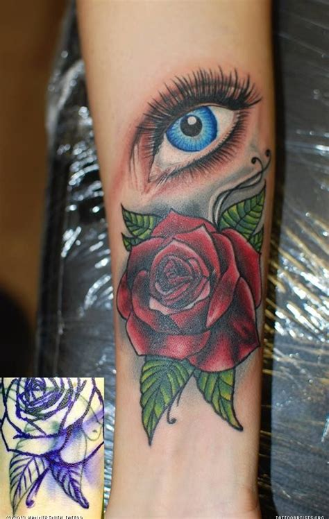 rose eye tattoo 41 best eye realistic images on