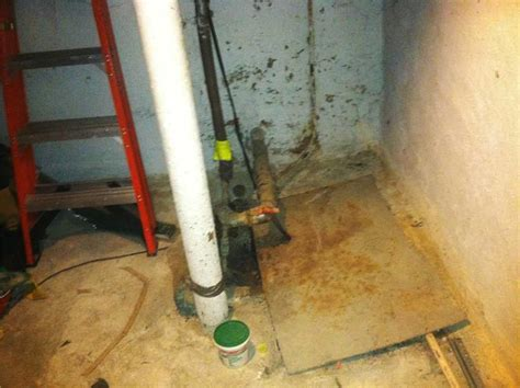 Basement Waterproofing   Staten Island Wet Basement Gets