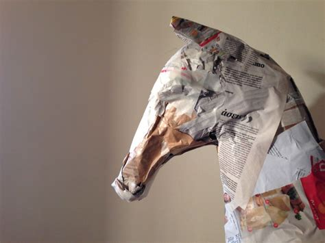 How To Make A Paper Mache Statue - paper mache sculpture gift ideas creative spotting