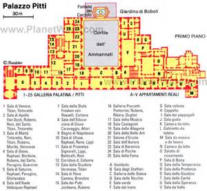 Elysee Palace Floor Plan Exploring The Pitti Palace Amp Boboli Gardens In Florence A
