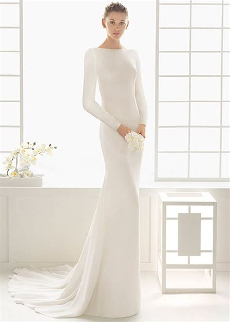 Minimal Dress best 25 minimal wedding dress ideas on