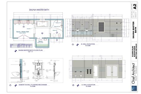 chief architect plans 2012 master bath sle plan by chief architect fine