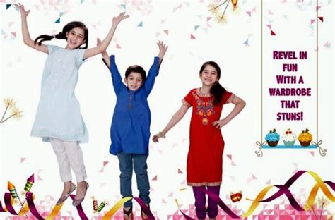 Adha 3 Maxi nishat linen eid collection 2015 for childrens n l