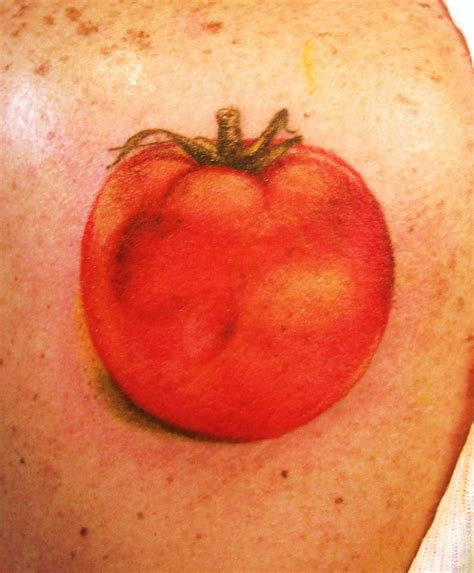 tomato tattoo tattoos oxygen