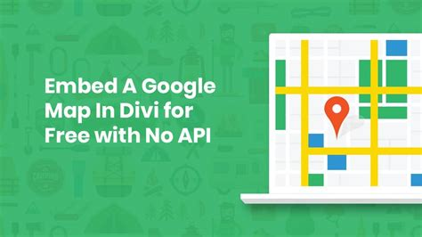 thank you card template to embed in email embed a map in divi for free with no api extremely