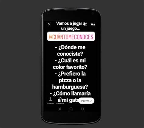 cadenas insta story 5 juegos para conquistar a tus contactos en instagram