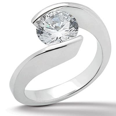 Tension Engagement Rings by Tension Setting Engagement Rings Ta Orlando