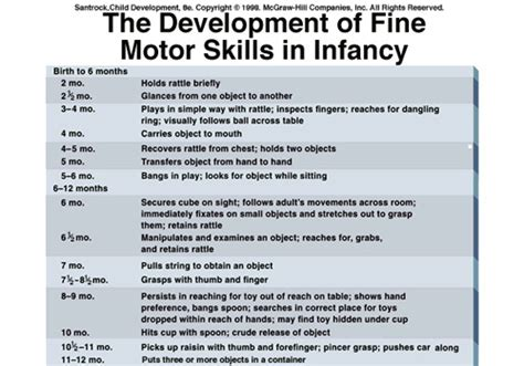 infant motor skill development babies health