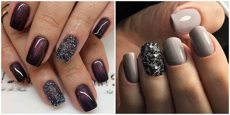 winter nail colors  nail design  beads