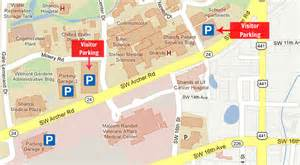 location maps parking 187 health science center libraries