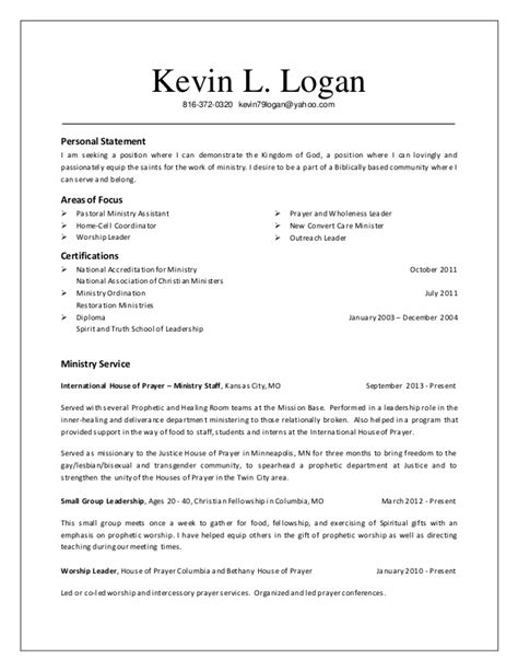 Ordinary Church Music Positions #3: Resume-kevin-logan-ministry-resume-20141010-1-638.jpg?cb=1422451032
