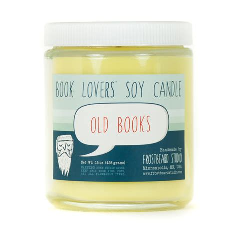 scented soy candle unique candle book lover s candle old books book candle book lover gift scented soy