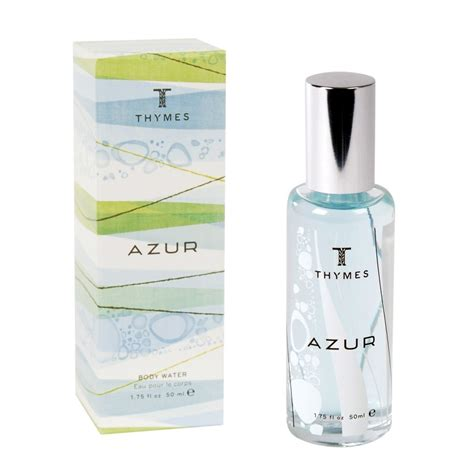 Thymes Azure by Thymes Azur Water 1 75 Oz