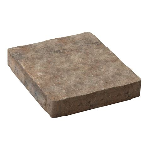 Lowes Patio Blocks by Decor 12 In Square Domino Slab Patio Lowe S Canada