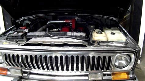 4bt cummins jeep cherokee cummins diesel 4bt conversion fullsize jeep wagoneer