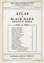 Black Hawk County Records Black Hawk County 1939 Iowa Historical Atlas