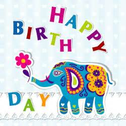 elephant birthday cards elephant birthday cards vector free vector
