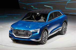 Audi Electric Cars 2018 Reservations Open In For The 2018 Audi E