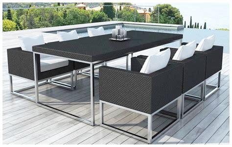 table et chaise de jardin en resine table et chaise de jardin en resine tressee table et