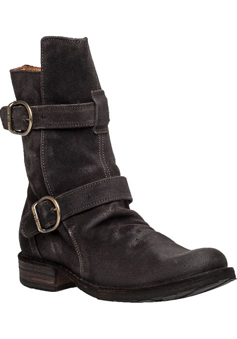 fiorentini baker eternity 713 suede boots in brown lyst