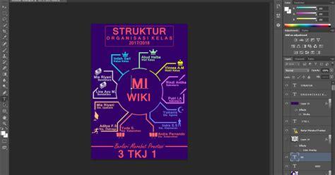 cara desain struktur organisasi dengan photoshop cara membuat struktur organisasi di photoshop 3 desain