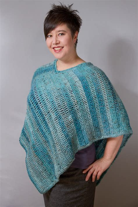 Free Patterns Poncho | pattern for crocheted poncho easy crochet patterns