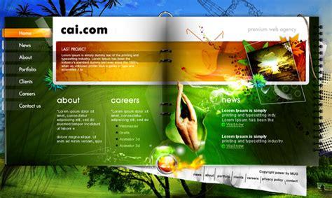 Best Most Creative Web Design Template From Deviantart Web Designer Developer Pune India Pest Website Design Templates