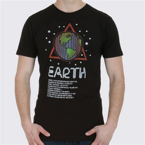 Details About T Shirt earth planet facts s t shirt the fact shop