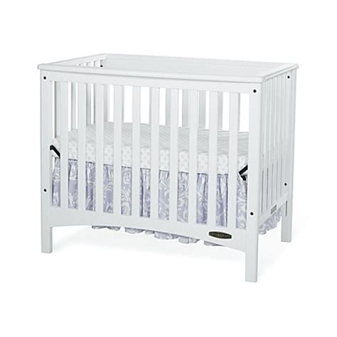 Child Craft London Euro 2 In 1 Mini Crib In White Baby Mini Crib