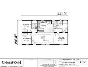 Champion Modular Home Floor Plans Homes Direct Cm3443r