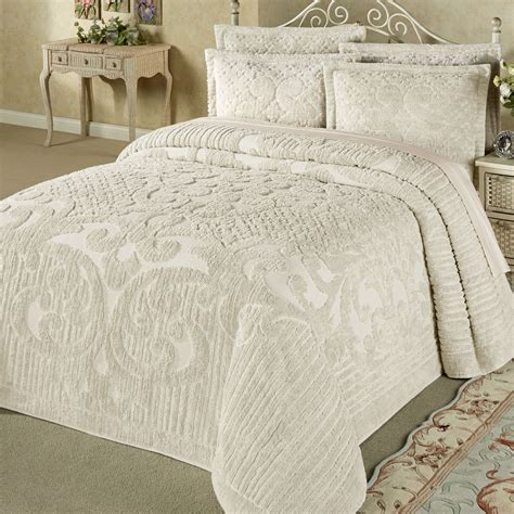 cotton bed coverlets ashton lightweight cotton chenille bedspread bedding