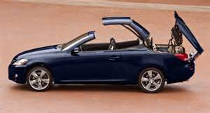 test drive and report lexus is convertibles is 250 c and