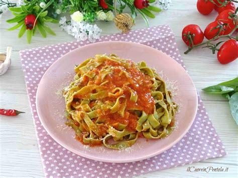pasta fresca al autntico 8494193422 pasta fresca al basilico ricetta pasta fresca il cuore in pentola