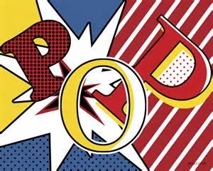 pop art packs decor punch the columbian
