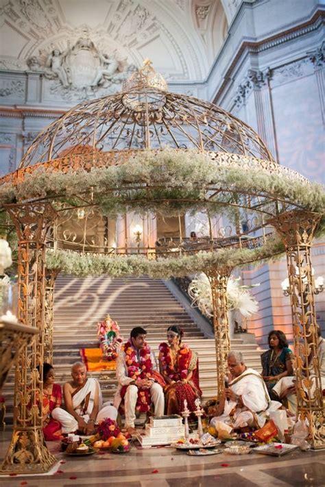 San Francisco City Hall Indian Wedding from Kim and Niki