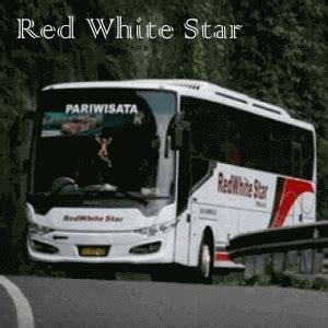 bus pariwisata red white star sewa bus jakarta murah