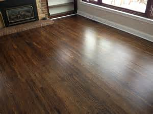 staining hardwood floors darker minneapolis floor