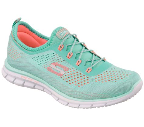 mint green athletic shoes skechers s harmony mint green coral athletic shoe