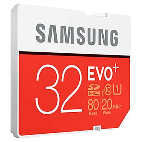 Samsung Sdhc Evo Uhs 1 Class 10 80mbs samsung sdhc evo uhs 1 class 10 80mb s 32gb mb sc32d