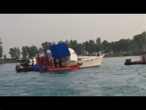 lake gage indiana boat accident aftermath of lake st clair boating accident youtube