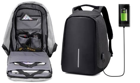una mochila para el tomtop tiene una mochila antirrobo con bater 237 a incluida