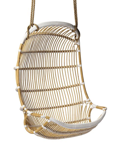 Double hanging rattan chair chairs serena and lily
