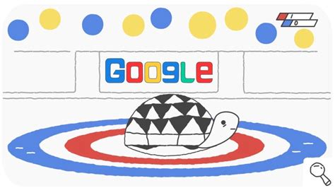 doodle igre winter olympics day 2 of the doodle snow curling