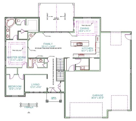 main floor plans crookston designs plan 14022 00