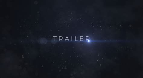 after effects trailer template trailer after effects template videohive 19178455