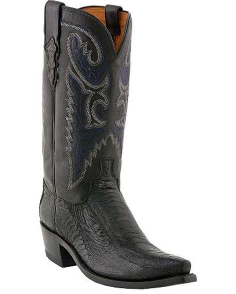 Lucchese Handcrafted 1883 - lucchese handcrafted 1883 ostrich leg cowboy boots snip