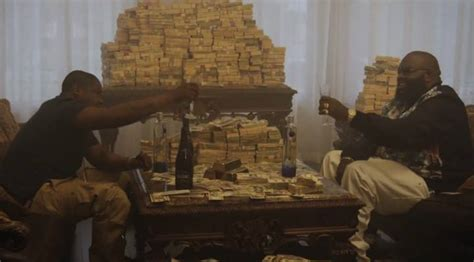 room of money chagne spillin the opulence money by rick ross