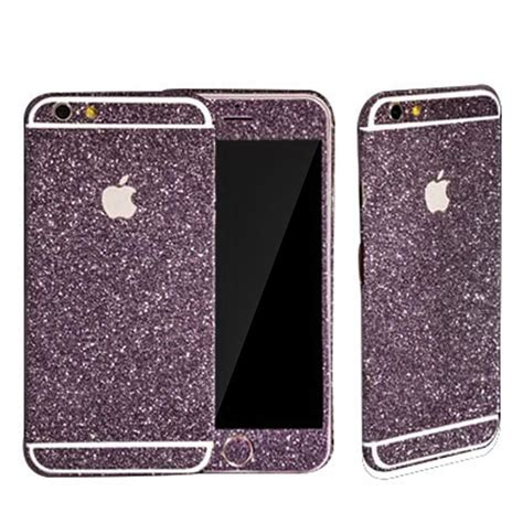 Fuze Glitter For Iphone 6 purple glitter decal from velvet caviar thing s that i really