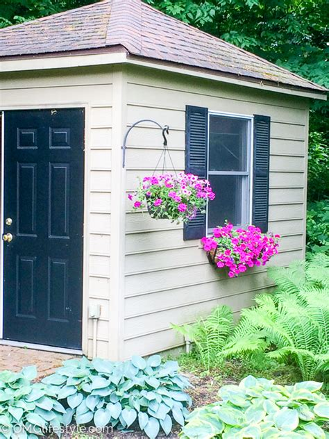shed window boxes window boxes add charm and curb appeal